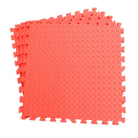 Напольное покрытие ласточкин хвост для детской 30см красный