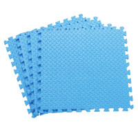 Напольное покрытие ласточкин хвост для детской 60см синий