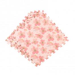 Напольное покрытие ласточкин хвост для детской 60см puzzle