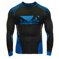 Рашгард Bad Boy Sphere Compression Top L/S - Black/Blue