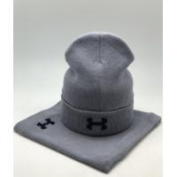 Комплект шапка и бафф under armour black