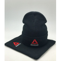 Комплект шапка и бафф reebok crossfit black