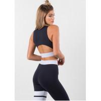 Спортивный комплект pts1812 женский black white