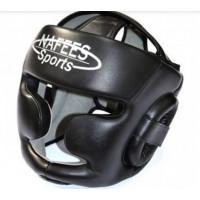 Шлем боксерский nafees sports black