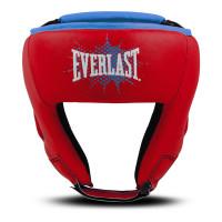 Шлем боксерский детский everlast prospect red