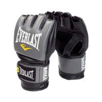 Перчатки мма everlast pro style grappling grey