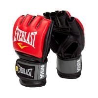 Перчатки мма everlast pro style grappling red