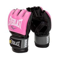 Перчатки мма everlast pro style grappling pink
