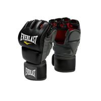 Перчатки мма everlast grappling black