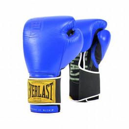 Перчатки боксерские everlast 1910 classic blue