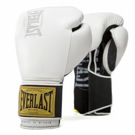 Перчатки боксерские everlast 1910 classic white