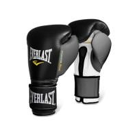 Боксерские перчатки everlast powerlock black grey