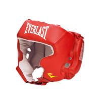 Шлем боксерский с защитой щек everlast usa boxing cheek red