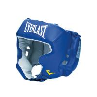Шлем боксерский с защитой щек everlast usa boxing cheek blue