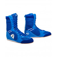 Обувь для бокса Green Hill ps005 высокая синяя