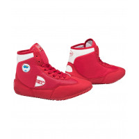 Обувь для борьбы gwb-3052/gwb-3055 красная/белая