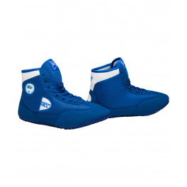 Обувь для борьбы gwb-3052/gwb-3055 синяя/белая