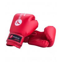 Перчатки боксерские детские rusco red