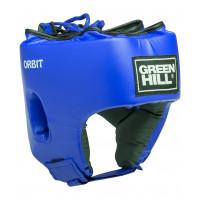 Шлем боксерский green hill открытый детский orbit hgo-4030 синий
