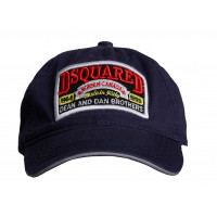 Бейсболка dsquared dean and dan brothers blue