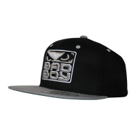 БЕЙСБОЛКА BAD BOY SNAPBACK HAT - GREY/BLACK