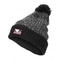 Шапка Bad Boy Fleece Bobble Beanie - Grey
