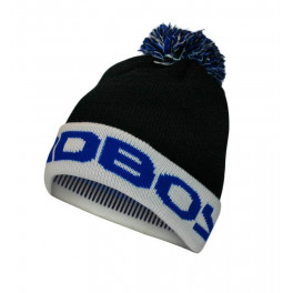 Шапка bad boy bobble beanie - black/blue