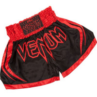 Тайские шорты VENUM KORAT MUAY THAI SHORTS - RED DEVIL