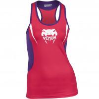 Спортивный женский топ venum body fit tank top - pink/purple