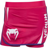 Юбка шорты venum body fit training skirt - pink/purple