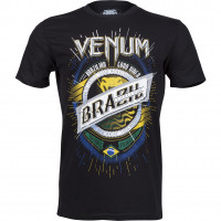 Футболка venum keep rolling t-shirt - black