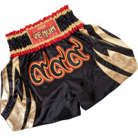 Тайские шорты VENUM CHAIYA MUAY THAI - BLACK/GOLD