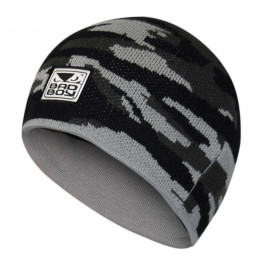 Bad Boy Beanie - Camo Grey