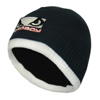 Шапка Bad Boy Ribbed Beanie - Navy