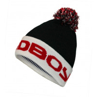 Шапка Bad Boy Bobble Beanie - BlackRed