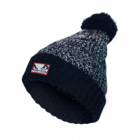 Bad Boy Fleece Bobble Beanie- Navy