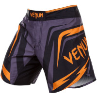 VENUM SHARP 2.0 FIGHT SHORTS - BLACK/ORANGE
