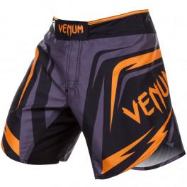 VENUM SHARP 2.0 FIGHT SHORTS - BLACK/ORANGE