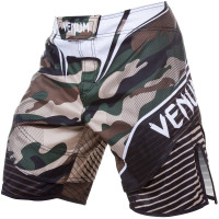 Шорты VENUM CAMO HERO FIGHT SHORTS - GREENBROWN