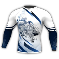 RASHGUARD DRAGON WHITE
