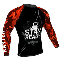 Рашгард Kayten STAY READY RED