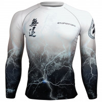 Рашгард NO RETREAT THUNDER WHITE
