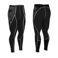 Компрессионные штаны Kayten DRAGON BLACK