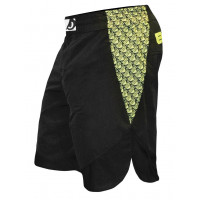 Bad Boy Strike II Shorts - Black/Yallow