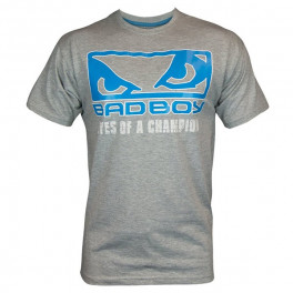 Футболка Bad Boy Focus Tee Grey Blue