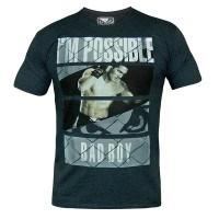 Футболка Bad Boy News Tee Navy