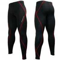 Штаны компрессионные btoperform black red