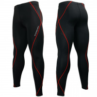 Штаны спортивные btoperform black red