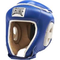 Шлем боксерский leone combat cs410 blue white
