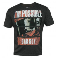 Футболка Bad Boy News Tee - Charcoal